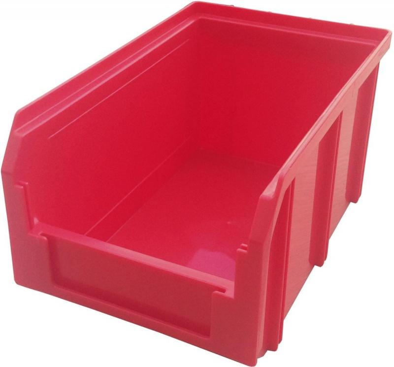 Пластиковый ящик V-2 3,8 литр, красный