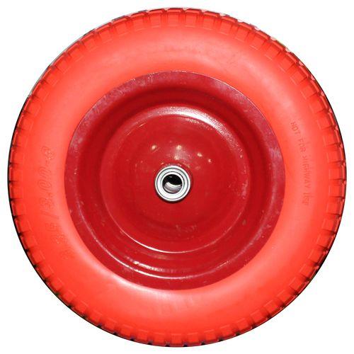 PU 4.80/4.00х80 D20 Колесо полиуритановое 380мм сим. ступица