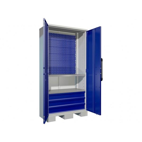 Шкаф инструментальный металлический Практик AMH ТС-062030