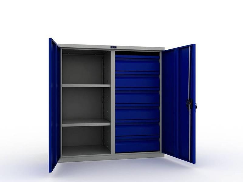 Шкаф инструментальный металлический Практик ТС 1095-100206