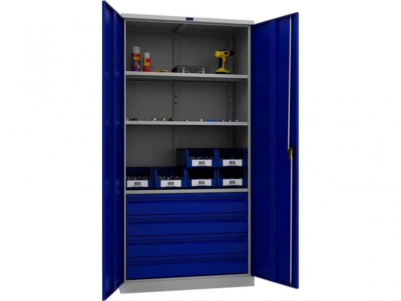 Шкаф инструментальный металлический Практик ТС 1995-003040 -  -