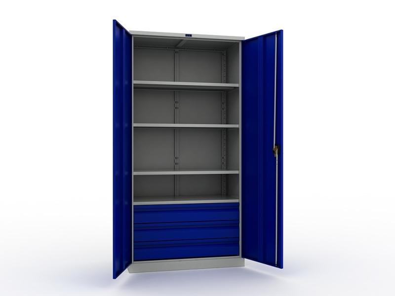 Шкаф инструментальный металлический Практик ТС 1995-004030 -  -
