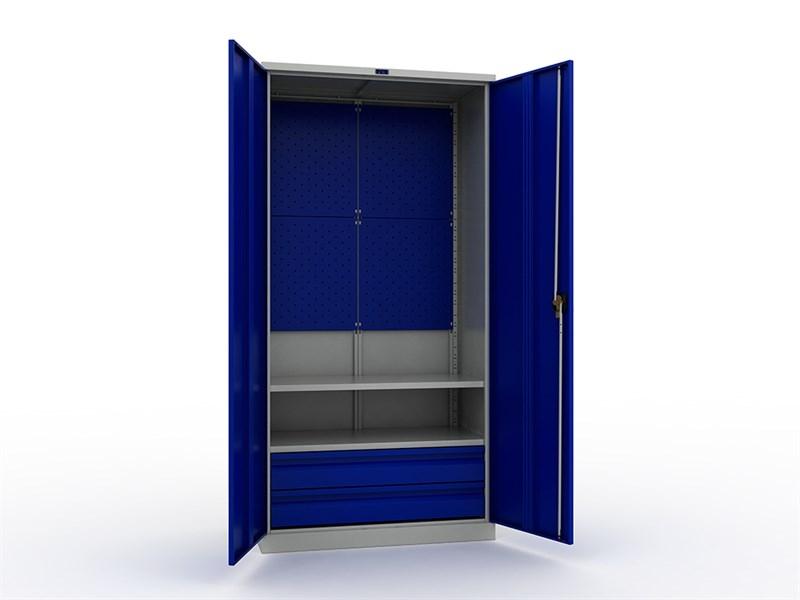 Шкаф инструментальный металлический Практик ТС 1995-042020