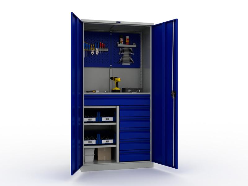 Шкаф инструментальный металлический Практик ТС 1995-121215 -  -