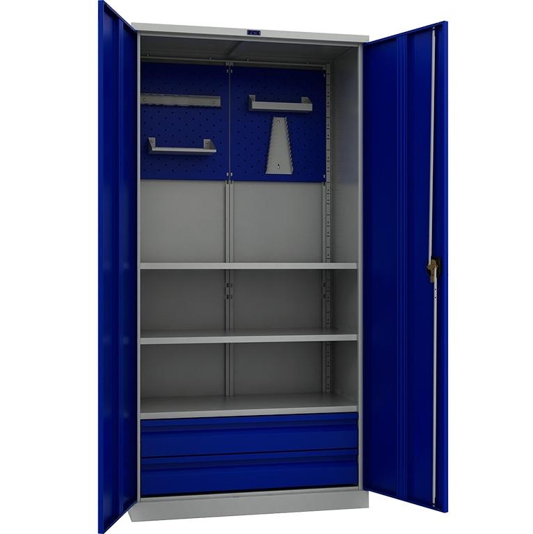 Шкаф инструментальный металлический Практик ТС 1995-023020