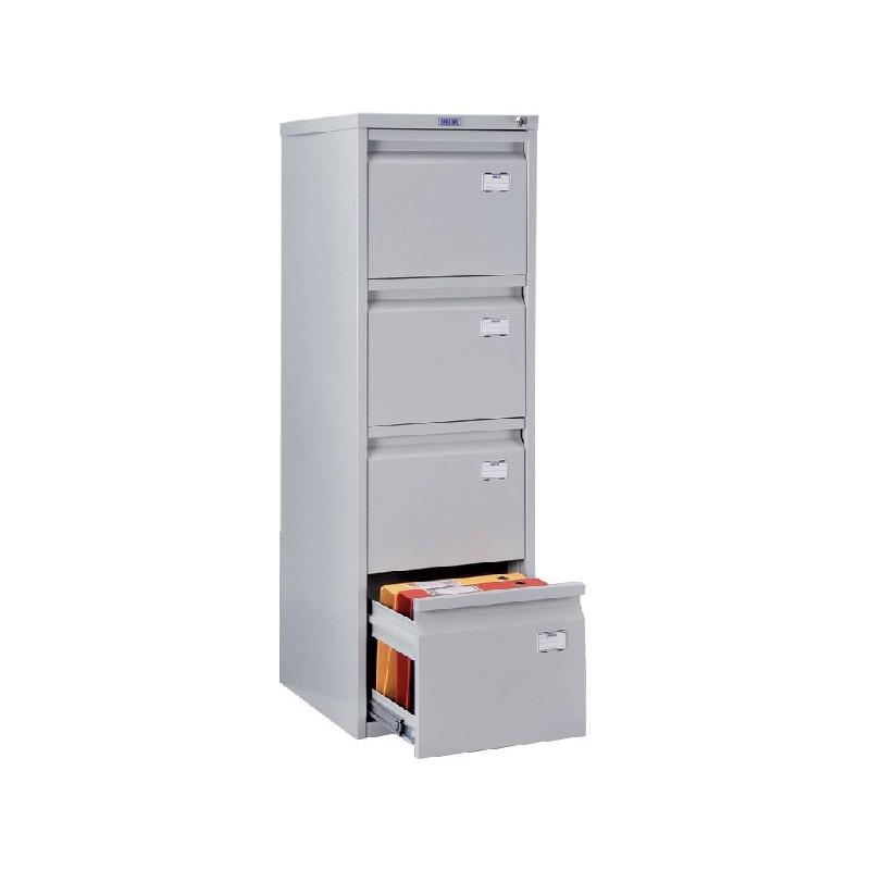 Шкаф картотечный металлический Практик A-44