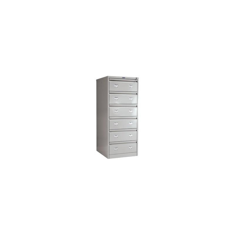 Шкаф картотечный металлический Практик AFC-06