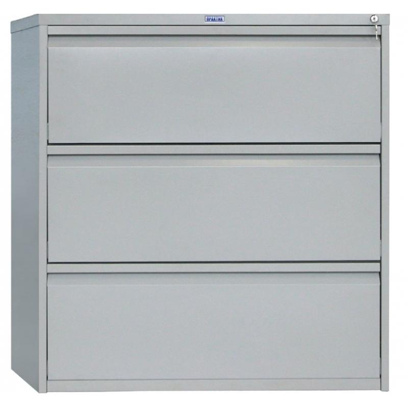 Шкаф картотечный металлический Практик AMF 1091/3