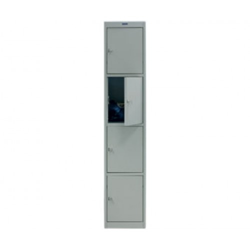 Шкаф металлический для сумок Практик AL-004 (приставная секция)