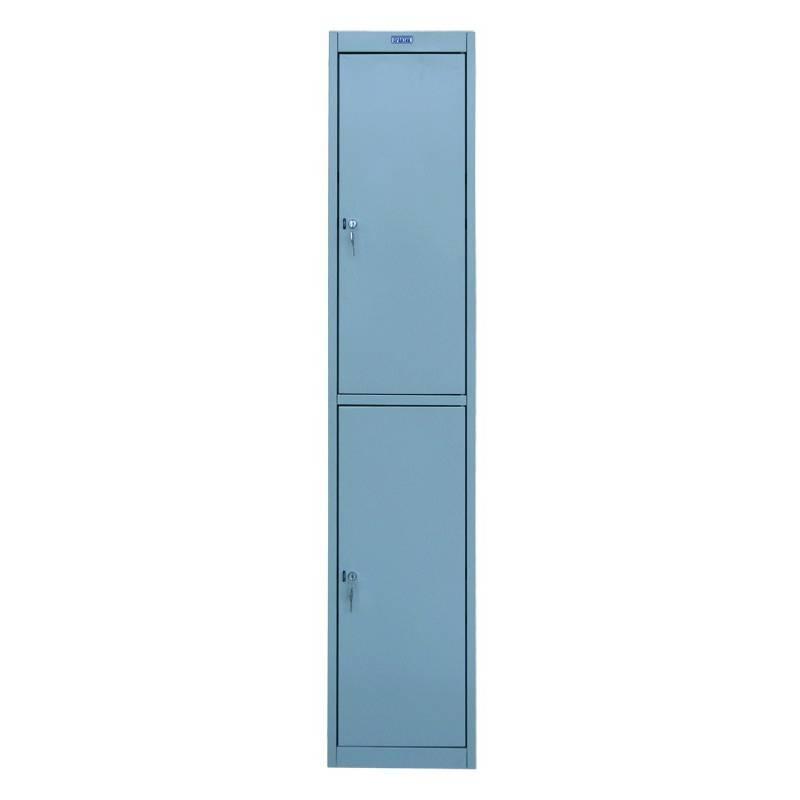 Шкаф металлический для одежды Практик AL-02