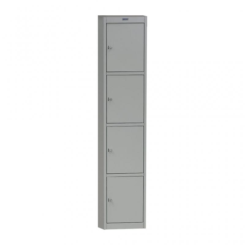Шкаф металлический для сумок Практик AL-04