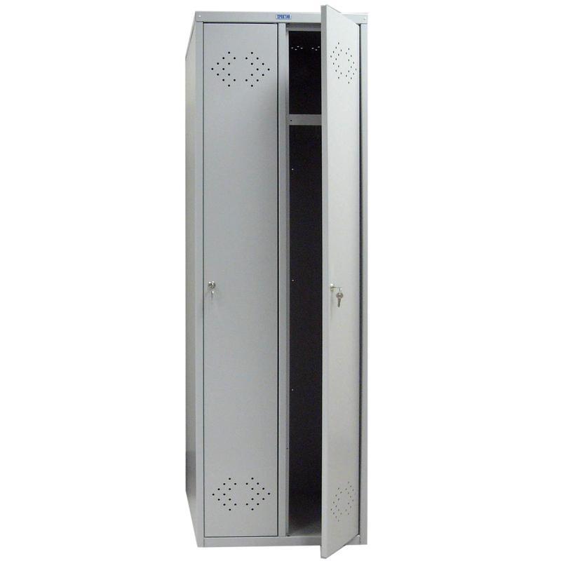 Шкаф металлический для одежды Практик LS 21-50