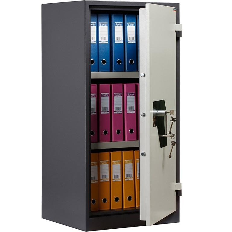 Шкаф металлический для офиса VALBERG BM-1260KL