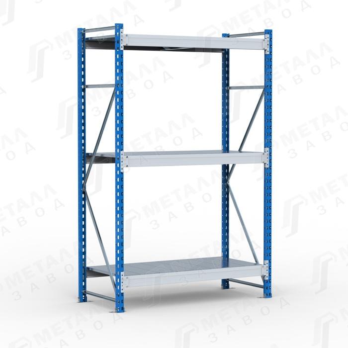 Стеллаж металлический SGR 1263-2,0 500 кг 3 полки (2000 Х 1200 Х 600)
