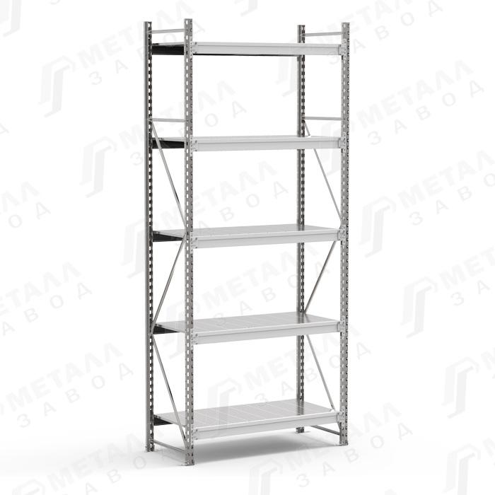 Стеллаж металлический SGR 2185-3,0 500 кг 5 полок (3000 Х 2100 Х 800)