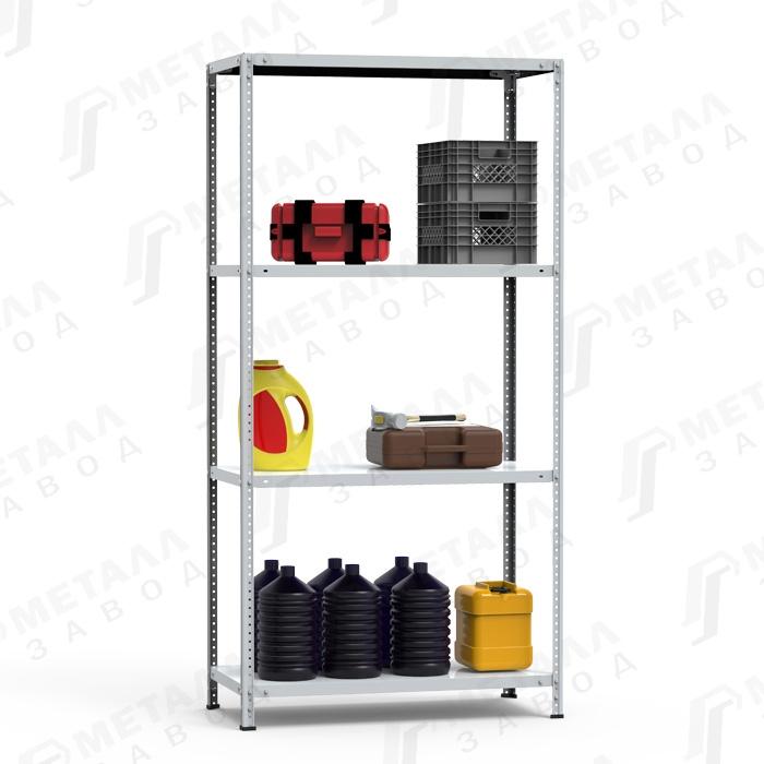 Стеллаж металлический СТФ 125 кг 4 полки (1800 Х 700 Х 500)