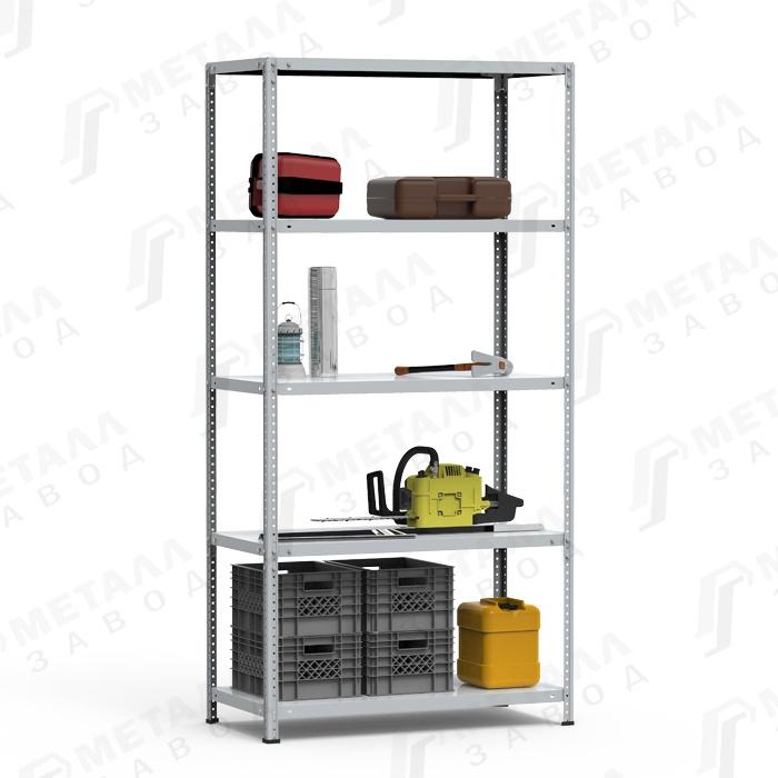 Стеллаж металлический СТФ 125 кг 5 полок (2200 Х 700 Х 800)