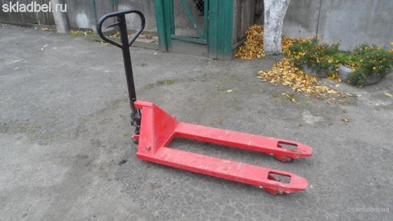 Тележка гидравлическая (рохля) БУ 2 тонны