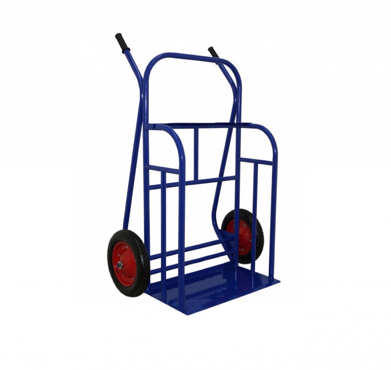 Тележка грузовая двухколесная М-1 350 кг колеса пневмо d 350 мм
