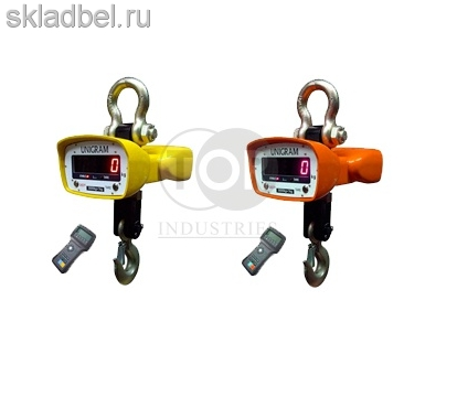 Весы крановые электронные с индикацией на пульте 5 т