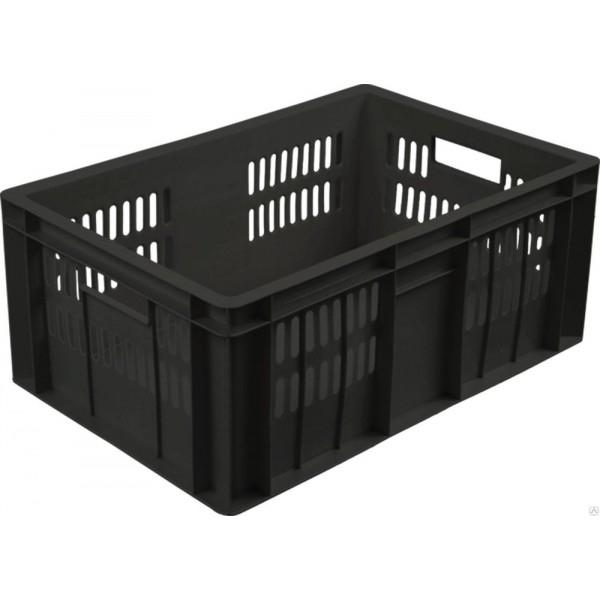 Ящик колбасный 201-1 черный 600х400х250