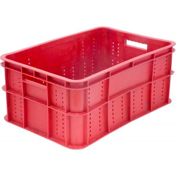 Ящик колбасный 202 красный 600х400х260